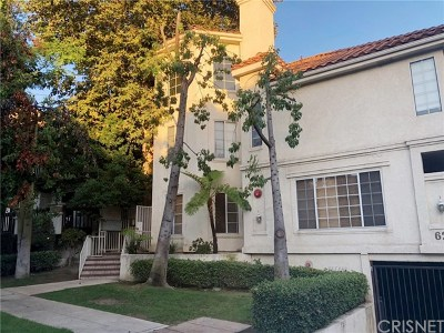 Burbank Condo/Townhouse For Sale: 626 E Palm Avenue #105