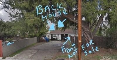 Reseda Single Family Home For Sale: 18635 Vanowen Street