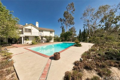 Brentwood, Calabasas, West Hills, Woodland Hills Single Family Home For Sale: 19943 Redwing Street