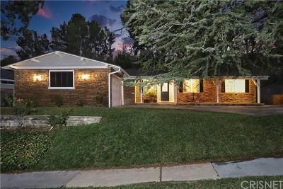 Saugus Single Family Home For Sale: 27301 Garza Drive