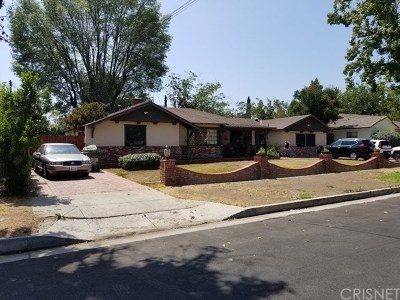 North Hills Single Family Home For Sale: 15452 Vincennes Street