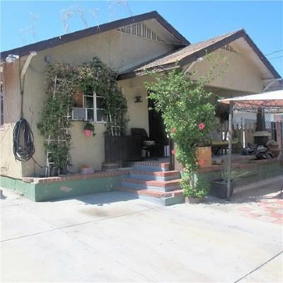 San Fernando Multi Family Home For Sale: 1120 Kewen Street