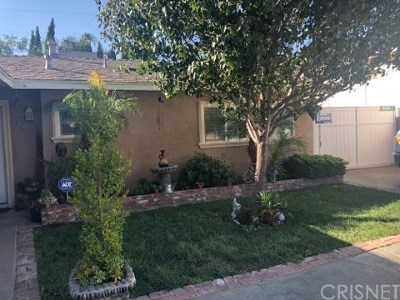 Sylmar Single Family Home For Sale: 13363 Dyer Street