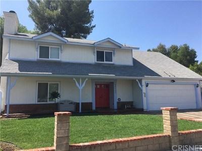 Saugus Single Family Home For Sale: 28137 Oaklar Drive