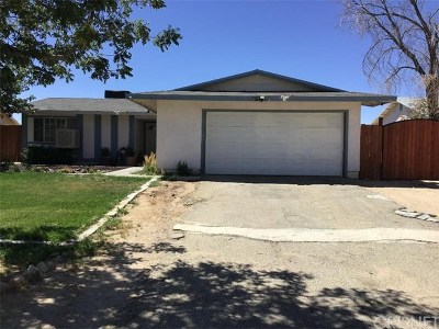 California City Single Family Home For Sale: 10681 Applewood Drive