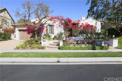Calabasas Single Family Home For Sale: 4000 Prado De Las Frutas