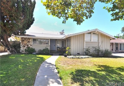 Van Nuys Single Family Home For Sale: 13440 Hartland Street