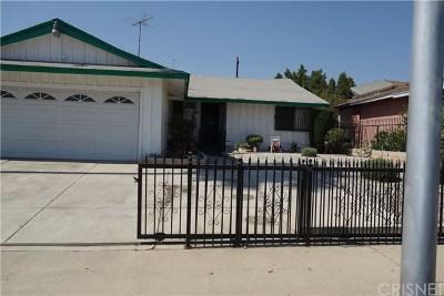 San Fernando Single Family Home For Sale: 13111 Corcoran Street