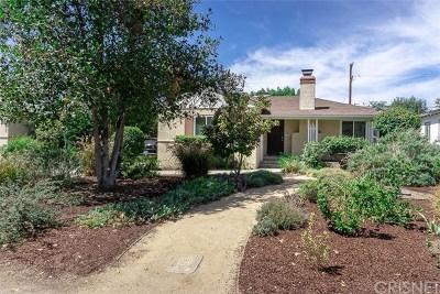 Sherman Oaks Single Family Home For Sale: 5725 Vesper Avenue
