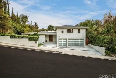 Studio City Single Family Home For Sale: 11444 Dona Pegita Drive