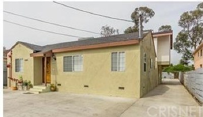 Valley Village Multi Family Home For Sale: 11815 Burbank Boulevard