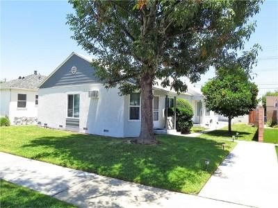 Burbank Multi Family Home For Sale: 1312 N Buena Vista Street