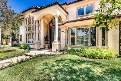 Encino Single Family Home For Sale: 4822 Valjean Avenue