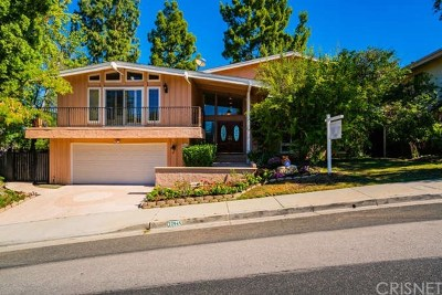 Calabasas Single Family Home For Sale: 22945 Paul Revere Drive