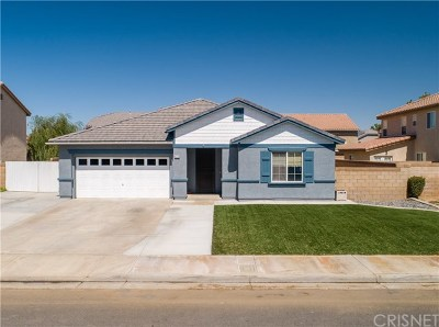 Quartz Hill Single Family Home For Sale: 4219 Norval Avenue
