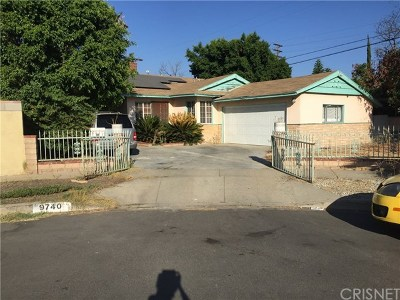 Arleta Single Family Home Active Under Contract: 9740 Roslyndale Avenue
