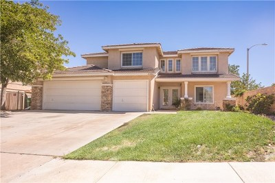 Palmdale Single Family Home For Sale: 40002 Vicker Way