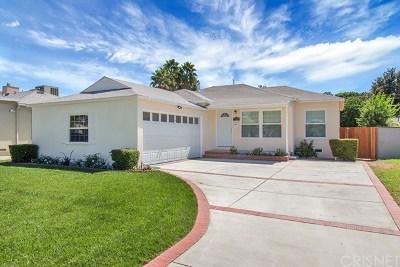 Van Nuys Single Family Home For Sale: 17626 Haynes Street