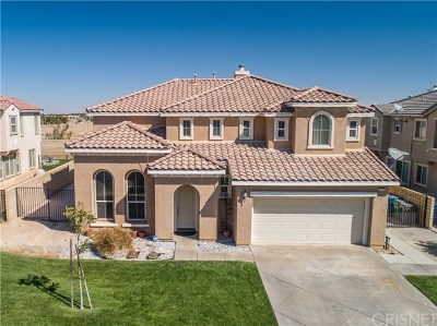 Palmdale Single Family Home For Sale: 4731 Stargazer Place