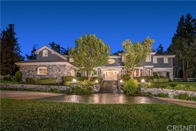 Hidden Hills Single Family Home For Sale: 24279 Bridle Trail Road