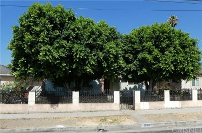 Pacoima Single Family Home For Sale: 13307 Terra Bella Street