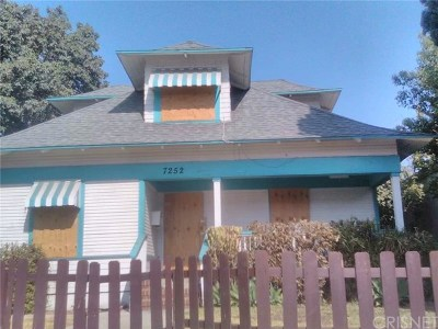 Whittier Single Family Home Active Under Contract: 7252 Bright Avenue