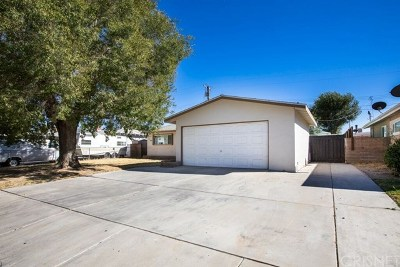 Lancaster, Palmdale, Quartz Hill Single Family Home For Sale: 828 W Avenue J13