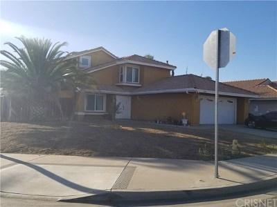 Moreno Valley Single Family Home For Sale: 13861 Cumin Street