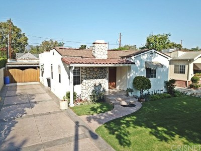 Burbank Single Family Home For Sale: 354 N Griffith Park Drive