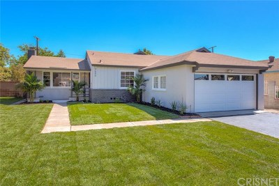 North Hills Single Family Home For Sale: 9654 Saloma Avenue