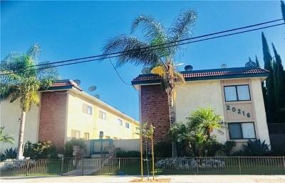 Winnetka Condo/Townhouse For Sale: 20216 Roscoe Boulevard #1
