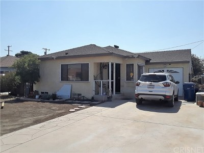 North Hollywood Single Family Home For Sale: 11030 Tiara Street