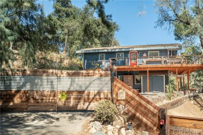 Topanga Single Family Home For Sale: 2090 Topanga Skyline Dr