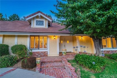 Calabasas Single Family Home For Sale: 24592 Mulholland
