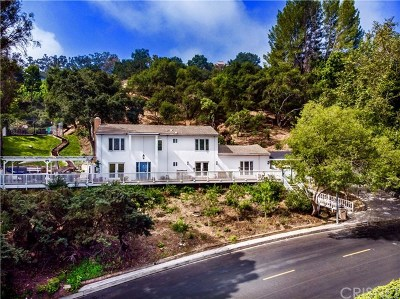 Encino Single Family Home For Sale: 16434 Royal Hills Drive