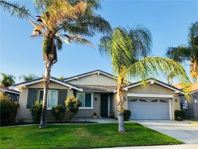 Moreno Valley Single Family Home For Sale: 27886 Crescent Court