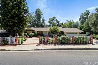 Tarzana Single Family Home For Sale: 19526 Wells Drive