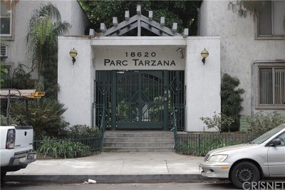 Tarzana Condo/Townhouse For Sale: 18620 Hatteras Street #171