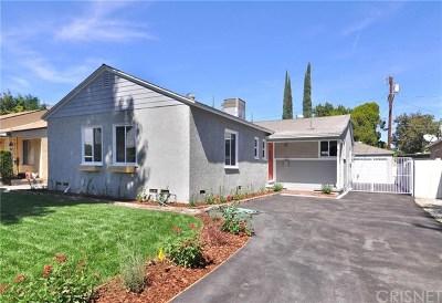 Lake Balboa Single Family Home For Sale: 17637 Gilmore Street