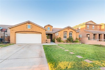 Rosamond Single Family Home For Sale: 3215 Tumble Weed Avenue