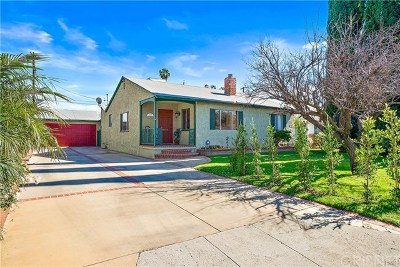Van Nuys Single Family Home For Sale: 6324 Langdon Avenue