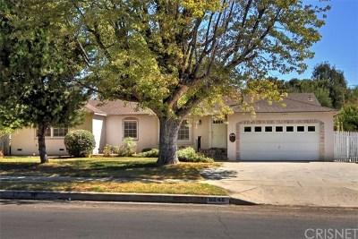 Lake Balboa Single Family Home Active Under Contract: 6848 Amestoy Avenue
