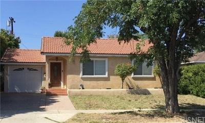 Encino Single Family Home Active Under Contract: 5759 Enfield Avenue