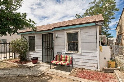 Mojave Single Family Home For Sale: 15623 K Street