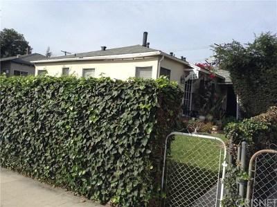Burbank Multi Family Home For Sale: 1211 W Burbank Boulevard