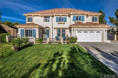 Lancaster, Palmdale Single Family Home For Sale: 40903 Knoll Drive
