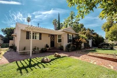 Winnetka Single Family Home For Sale: 20840 Kittridge Street