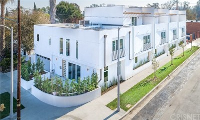North Hollywood Single Family Home For Sale: 11490 Cumpston Street