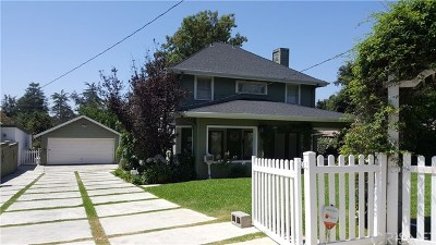 Altadena Single Family Home For Sale: 144 E Pine Street