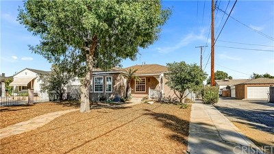 Burbank Single Family Home For Sale: 2010 N Pass Avenue